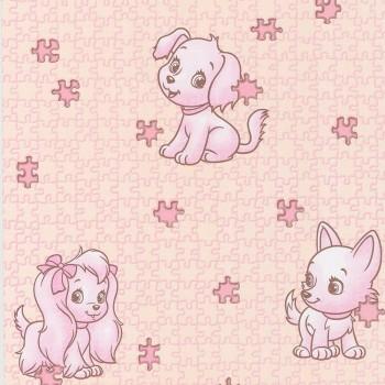 297-011 Пазлы обои Пермь 0,53м розовые